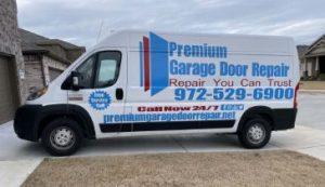 Premium Garage Door Repair Van