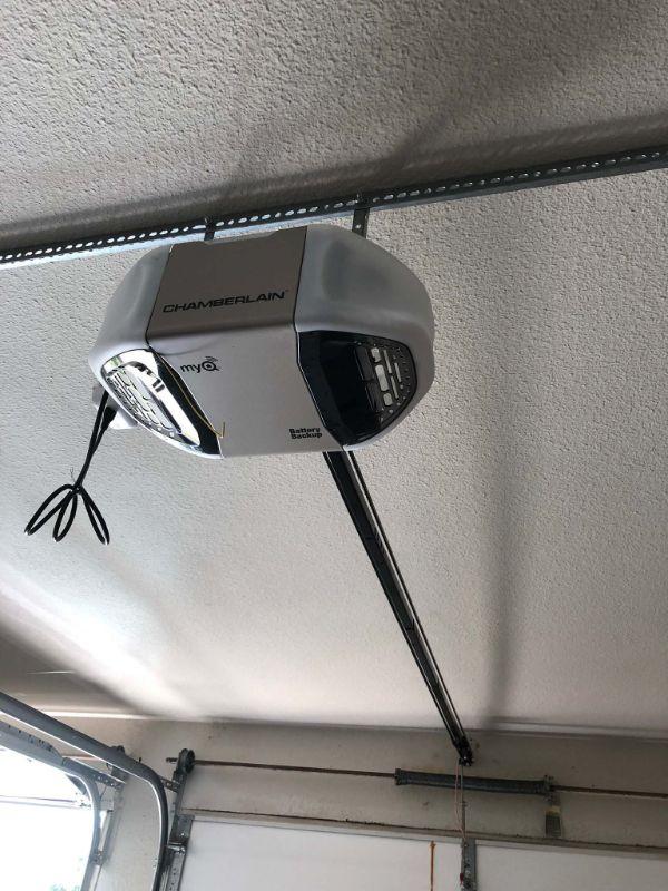 New installed Garage Door Opener