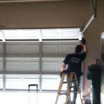 repairing garage door