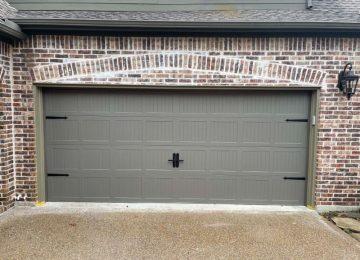Front View of Garage Door