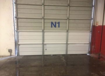 Back Side of garage door