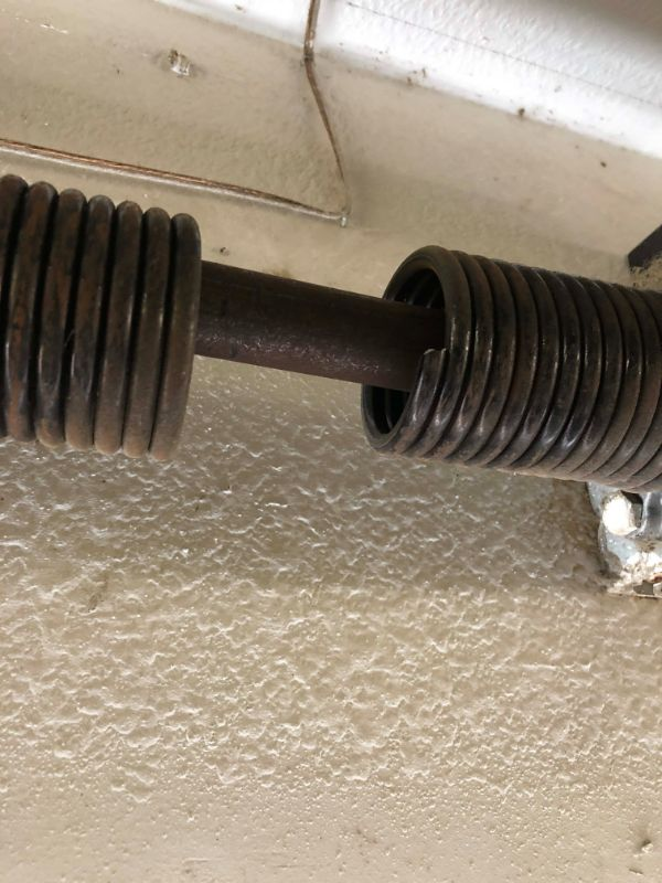 New Garage Door Spring